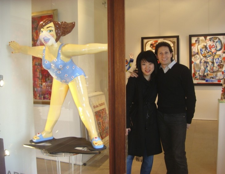 YOUN CHO Korean Artist at Galerie Art Symbol Paris