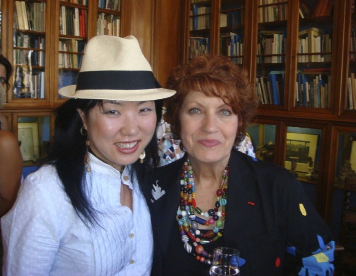 YOUN CHO Korean Artist with Andréa Ferréol