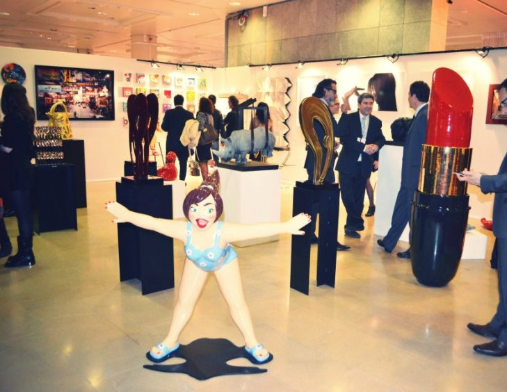 YOUN CHO Korean Artist at Art Monaco 2012