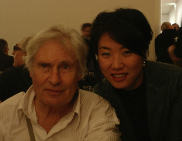 YOUN CHO Korean Artist with Peter Klasen