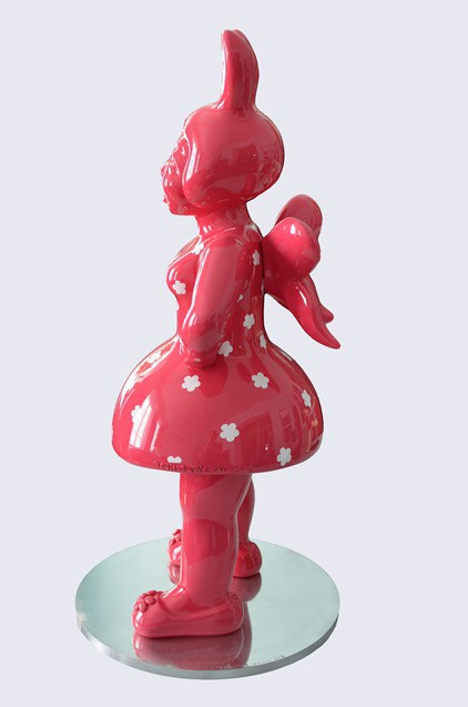 YOUN CHO Korean Artist Epoxy paint on polyester resin Sculpture